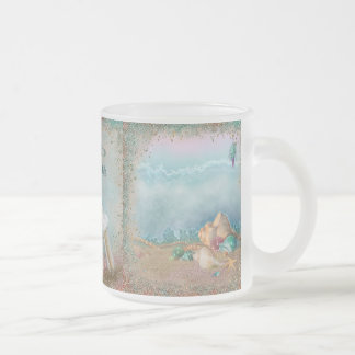 Beach Seashells Wedding Mug