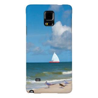 Beach, Seaside, and Birds Galaxy Note 4 Case