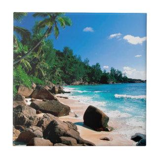 Beach Secret Getaway Tile