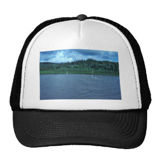 Beach Seine Used for Subsistence Fishing Trucker Hat
