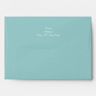 Beach Self Adressed Envelopes 5x7