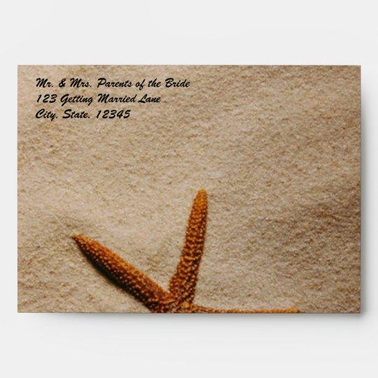 Beach Serenity Envelope