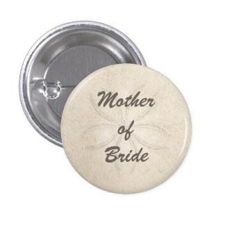 Beach Serenity Mother of the Bride Button