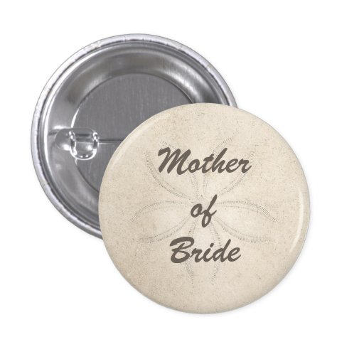 Beach Serenity Mother of the Bride Button Pin