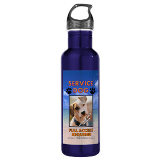 Beach Service Dog  K9 Quench Water Bottle