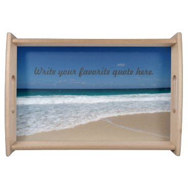 Beach Serving Tray