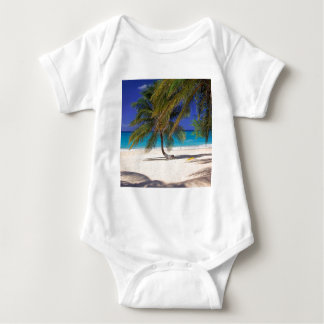 Beach Seven Mile Grand Cayman Baby Bodysuit