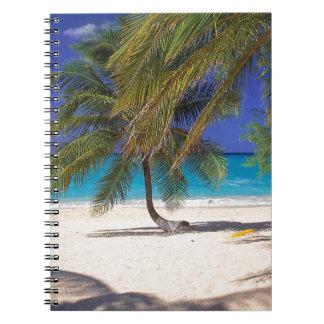 Beach Seven Mile Grand Cayman Spiral Note Book
