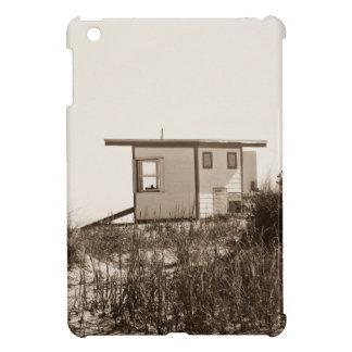 Beach Shack in Sepia Cover For The iPad Mini