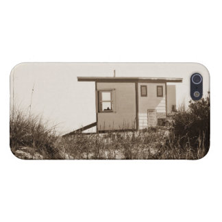 Beach Shack in Sepia Covers For iPhone 5