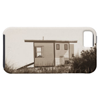 Beach Shack in Sepia iPhone 5 Cases