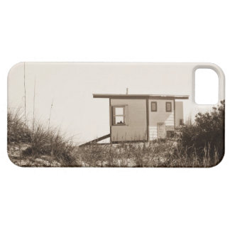 Beach Shack in Sepia iPhone 5 Cover
