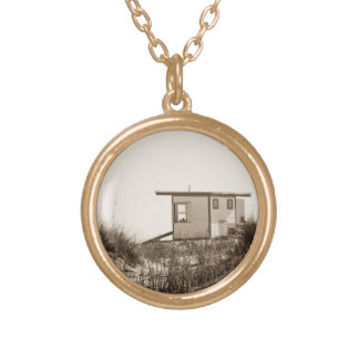 Beach Shack in Sepia Necklaces