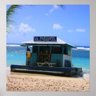 Beach Shack Poster