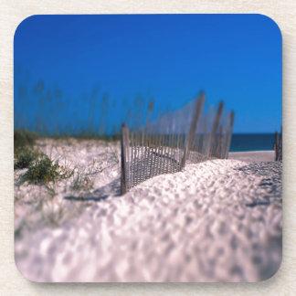 Beach Shell Island Drink Coasters
