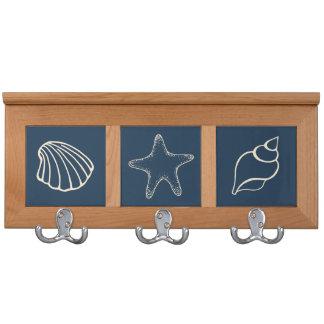 Beach Shells Coatrack Coat Racks