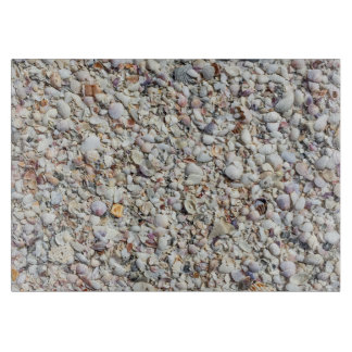 Beach Shells Sea Shell Background Ocean Texture Cutting Board