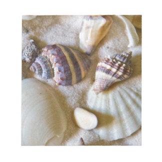 Beach Shells Theme #2 Notepad