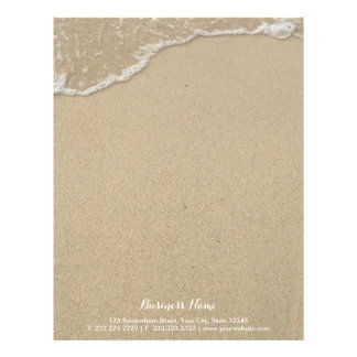 Beach Shore Elegant Letterhead