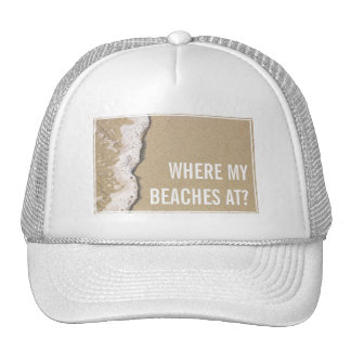 Beach Shore Trucker Hat