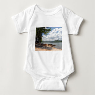 Beach Shoreline Photograph Baby Bodysuit