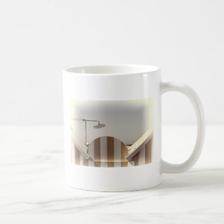 Beach shower coffee mug