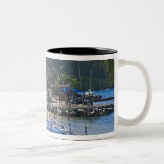 Beach side at Leverick Bay Resort & Marina, Coffee Mug