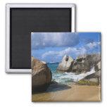 Beach side at Virgin Gorda, British Virgin Refrigerator Magnet