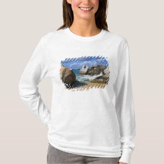 Beach side at Virgin Gorda, British Virgin T-Shirt