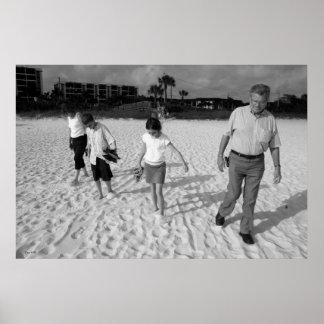 Beach, Siesta Key Poster
