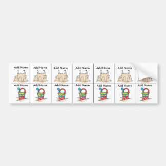 Beach Sippy Cup Labels