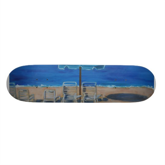 Beach Skateboard Deck