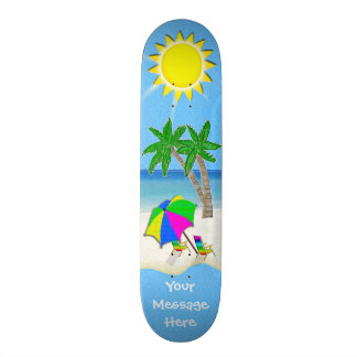 BEACH Skateboards, Customizable with YOUR Message