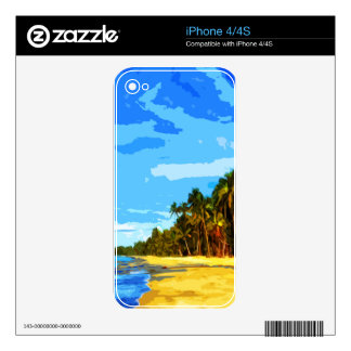 Beach Skin For iPhone 4S