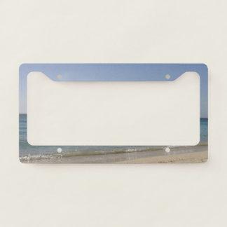 Beach Sky Sandy License Plate Frame