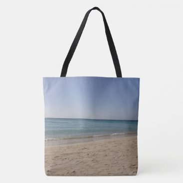 Beach Themed Beach Sky Sandy Tote Bag