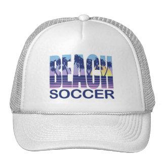 Beach Soccer Mesh Hats