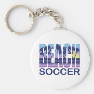 Beach Soccer Key Chain
