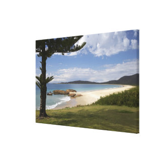 Beach, South West Rocks, New South Wales, Stretched Canvas Prints