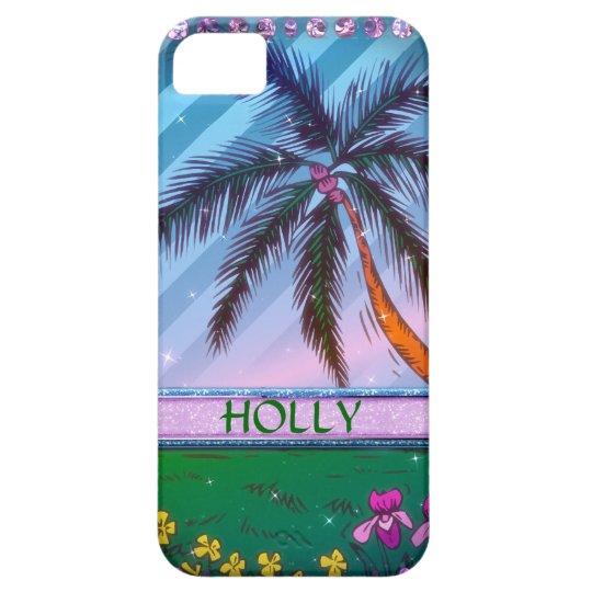 Beach Sparkle iPhone SE/5/5s Case
