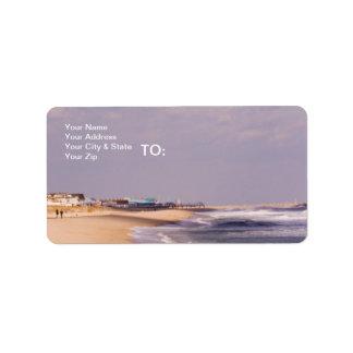 Beach Splendor Address Label