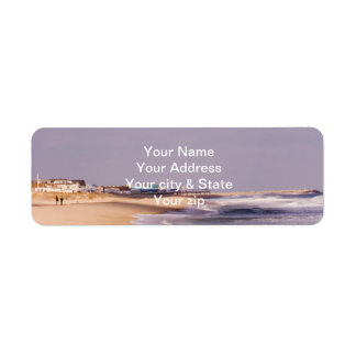 Beach Splendor Return Address Labels