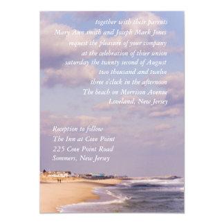 Beach Splendor  Wedding Invitations