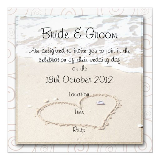 Square Wedding Invitations for your inspiration to make invitation template look beautiful