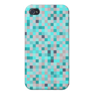 Beach Squares Cases For iPhone 4