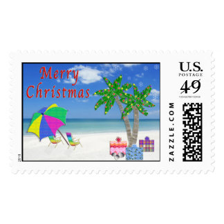 Beach Stamps for Christmas