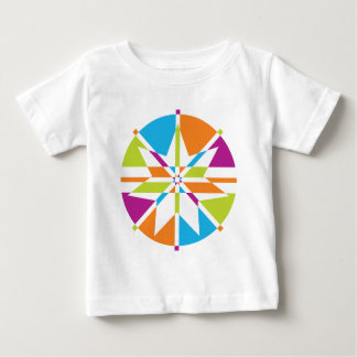 Beach Star 7 Point Design Baby T-Shirt