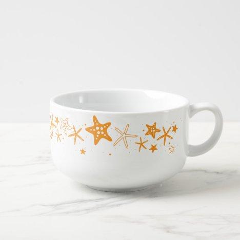 Beach Starfish Soup Mug