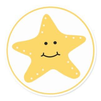 Beach Starfish Sticker sticker