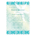 "Beach Starfish Summer Bridal Shower Invitations 5"" X 7"" Invitation Card"